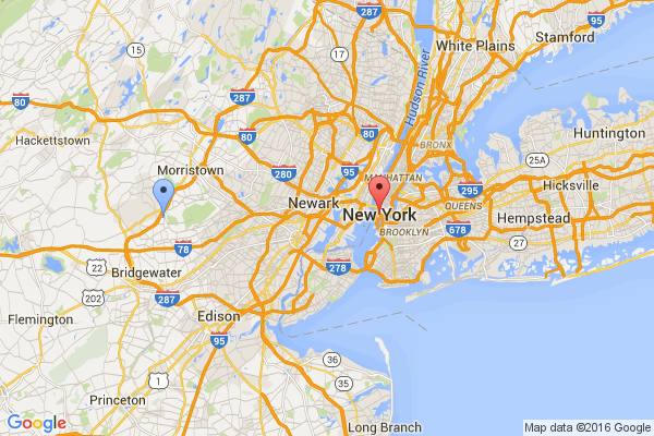 Basking Ridge - New York City