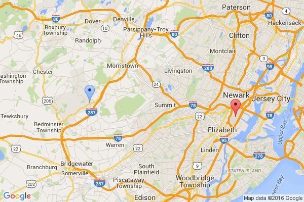 Bernardsville - Newark Airport