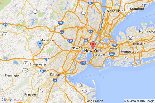 Bernardsville - New York City