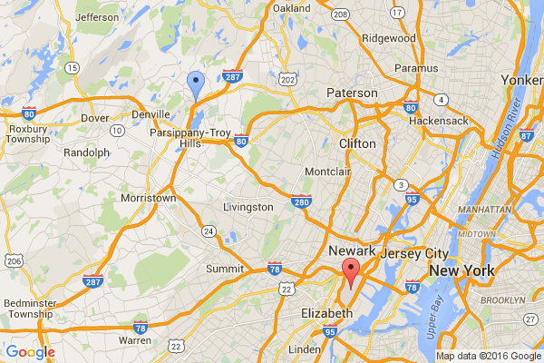Boonton - Newark Airport