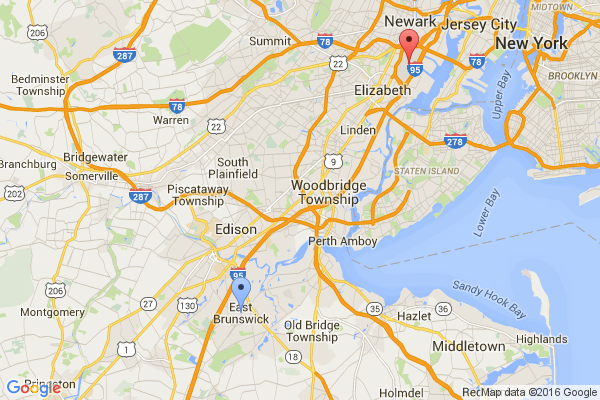 East Brunswick - Newark Airport