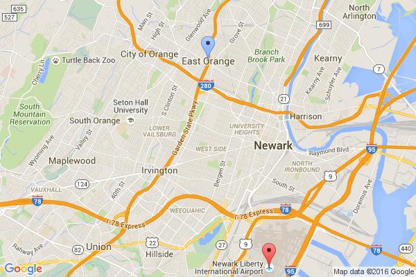 East Orange - Newark Airport