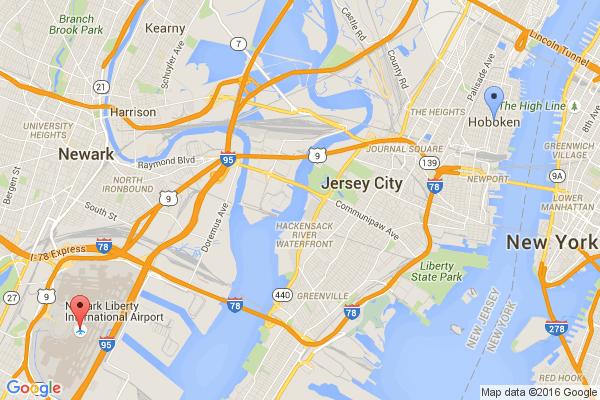 Hoboken - Newark Airport