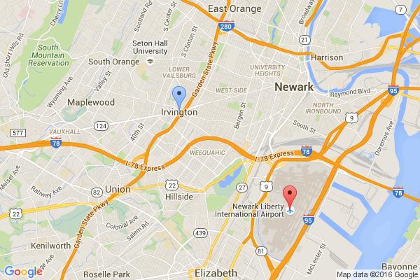 Irvington - Newark Airport