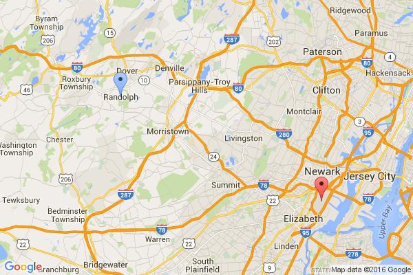 Randolph - Newark Airport