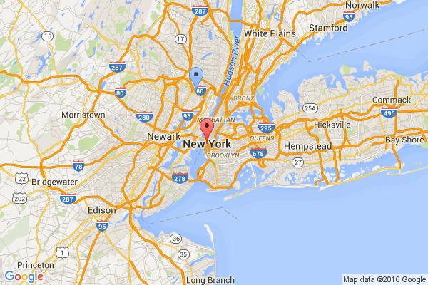 South Hackensack - New York City
