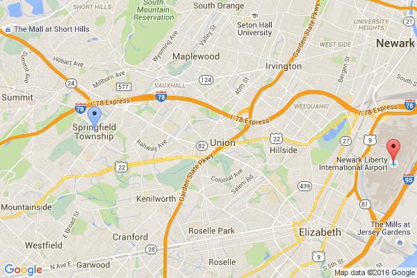 Springfield - Newark Airport