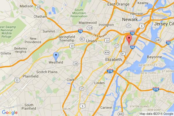 Westfield - Newark Airport